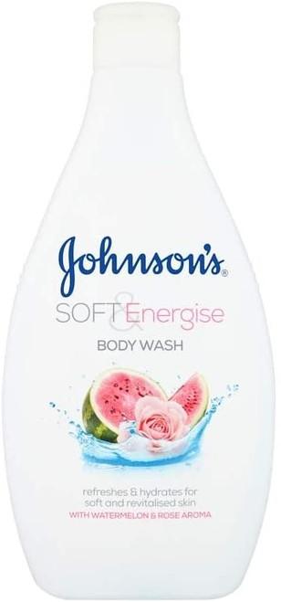 Johnson's Soft Energize Baby Body Wash - 400 ml