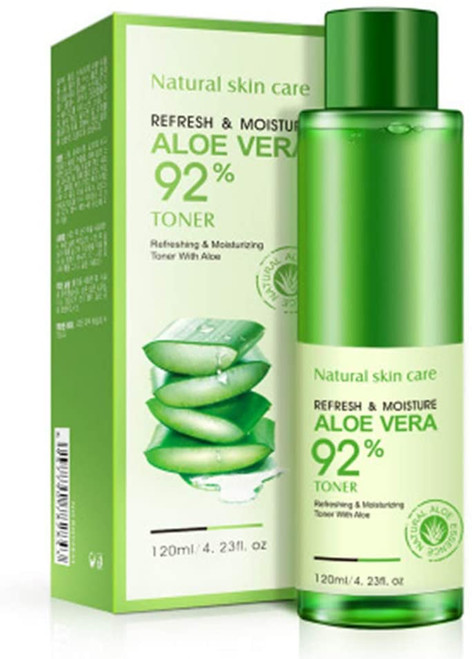 BIOAQUA 92% Aloe Vera Refresh Moisturizing Toner-120ml