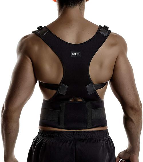 Adjustable Posture Correction and Spinal Support Back Brace