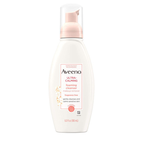 Aveeno Ultra-Calming Foaming Cleanser-6 Fl. Oz