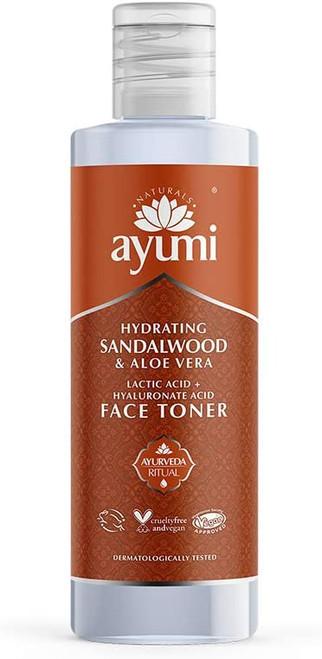 Ayumi Hydrating Aloe & Sandalwood Toner - 1 x 150ml