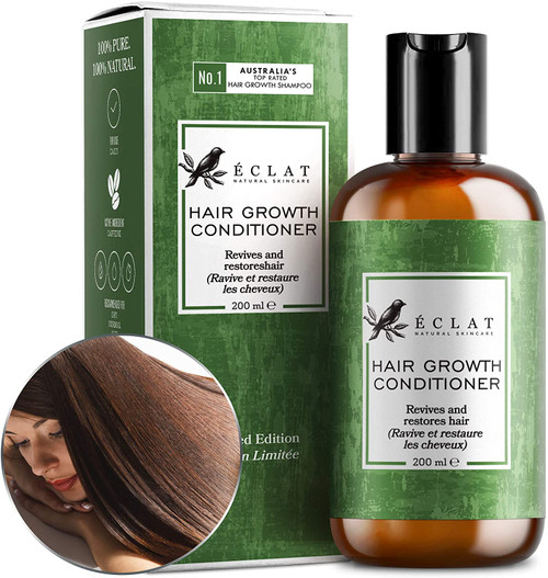 Eclat Healthier Hair Growth Conditioner for Hair Loss and Thin Hair - 200ml
