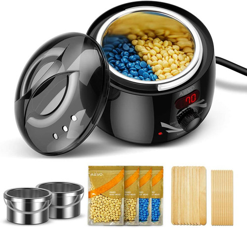 AEVO Electric Waxing Warmer Kit  With Two Wax Containers