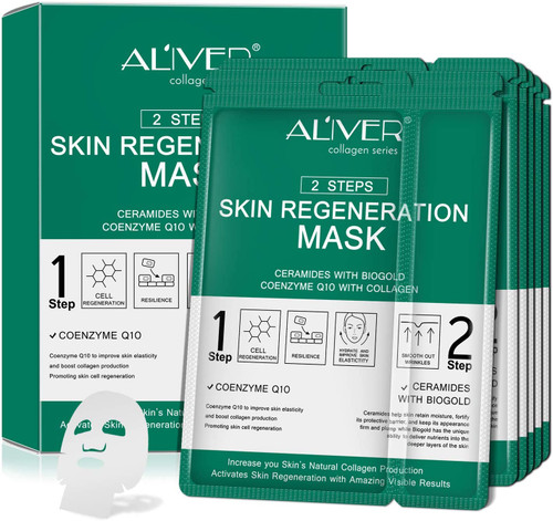 5-Pack Sheet Face Neck Mask