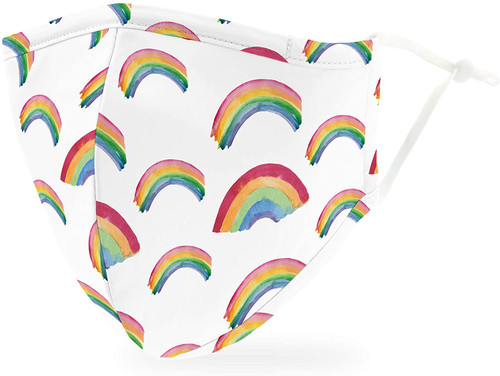 Weddingstar Five Layers Cotton Face Mask - Rainbow