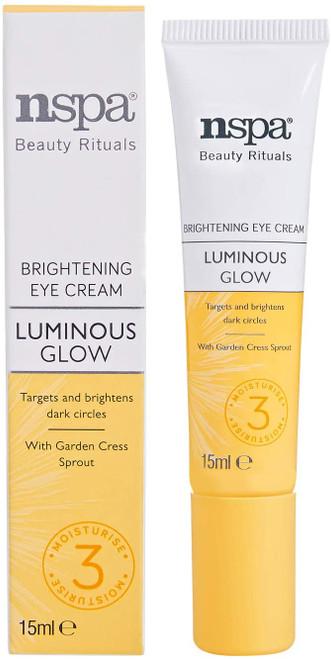 N-Spa Beauty Rituals Luminous Glow Brightening Eye Cream-15ml