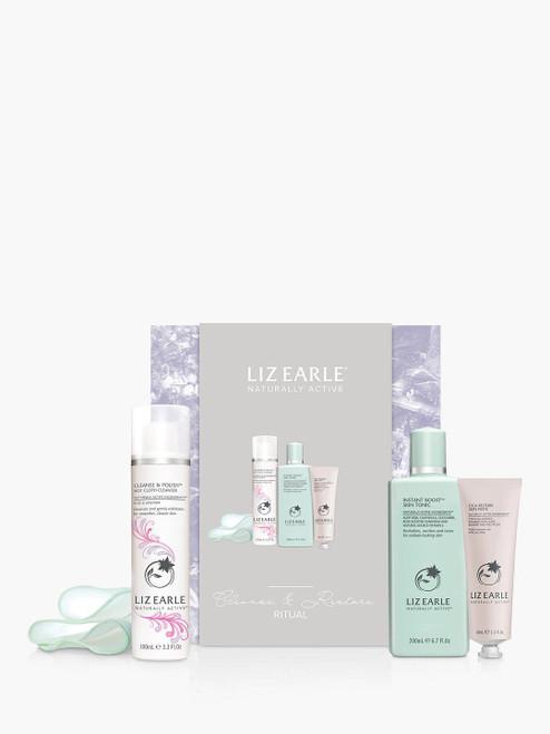 Liz Earle Ritual Skincare Gift Set Cleanse & Restore