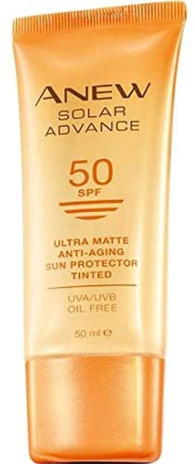 AVON ANEW Solar Advance Ultra Matte Tinted Anti-Ageing Sun Cream