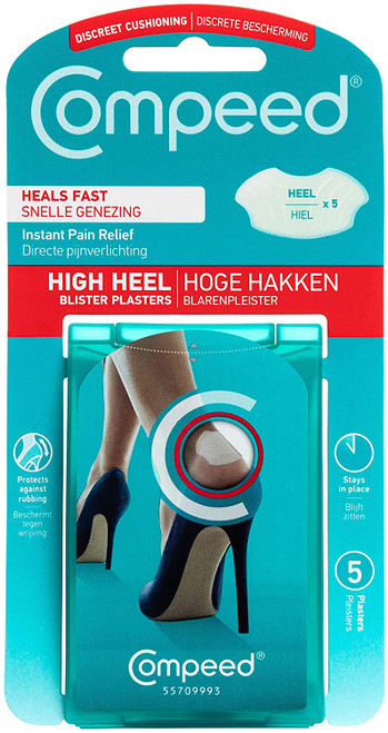 Compeed High Heel Fast Healing Blister Plasters - 5 Plasters
