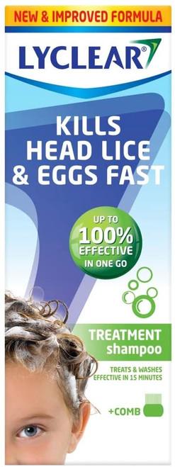 Lyclear Shampoo Head Lice Treatment