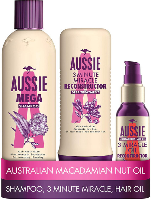 Aussie Mega Shampoo and Conditioner Set