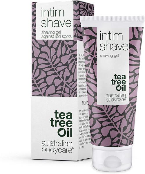 Australian Bodycare Tea Tree Oil Intim Transparent Shaving Gel - 100ml
