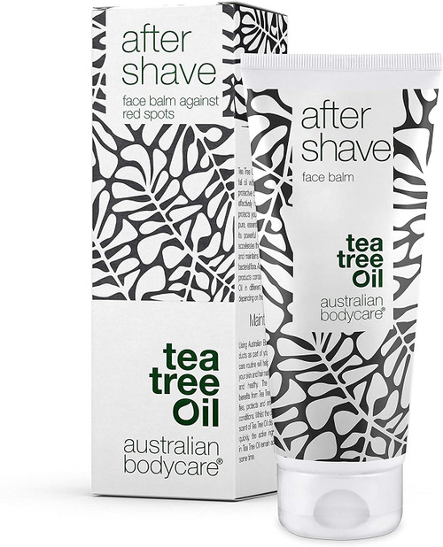 Australian Bodycare Tea Tree Oil After Shave Face Balm To Cool And Soothe Skin - 100ml