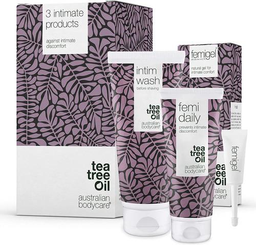 Australian Bodycare Tea Tree Oil Intimate Dryness Discomfort Treatment Kit - 3 Products