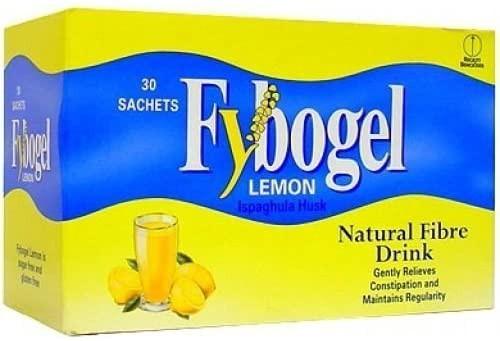 Fybogel Increase Fibre Diet Lemon Sachets - Pack of 2