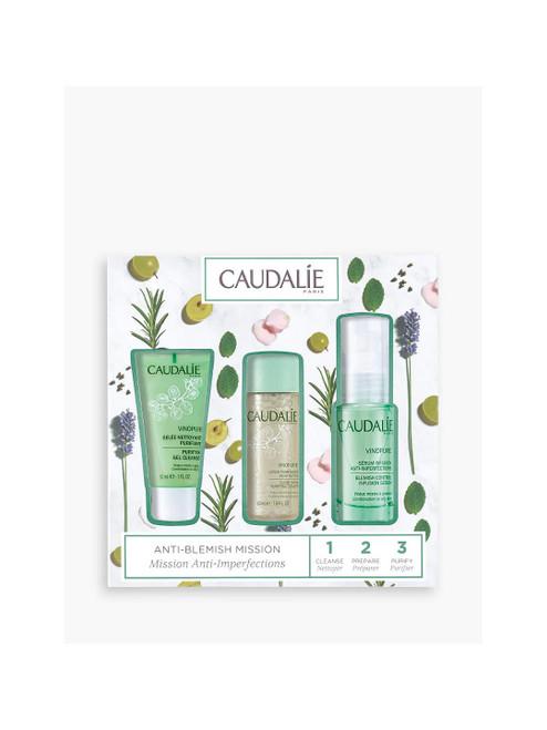Caudalie Vinopure Skincare Gift Set for Blemish Control