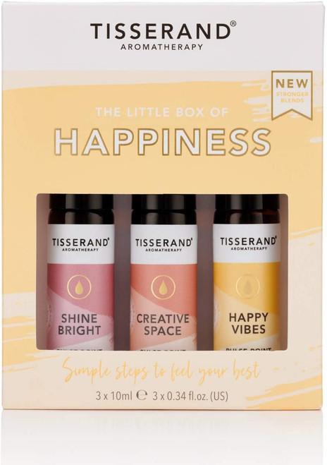 Tisserand Aromatherapy Essential Oil Roller Balls Kit - Happiness