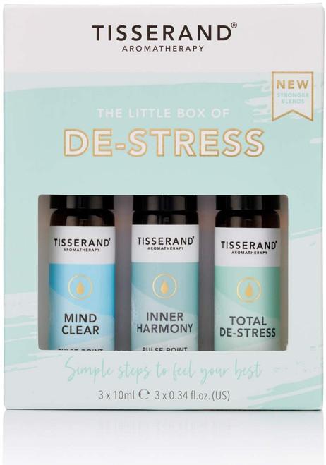Tisserand Aromatherapy Essential Oil Roller Balls Kit - De Stress
