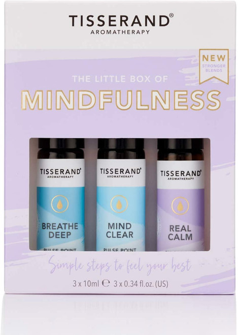 Tisserand Aromatherapy Essential Oil Roller Balls Kit - Mindfulness
