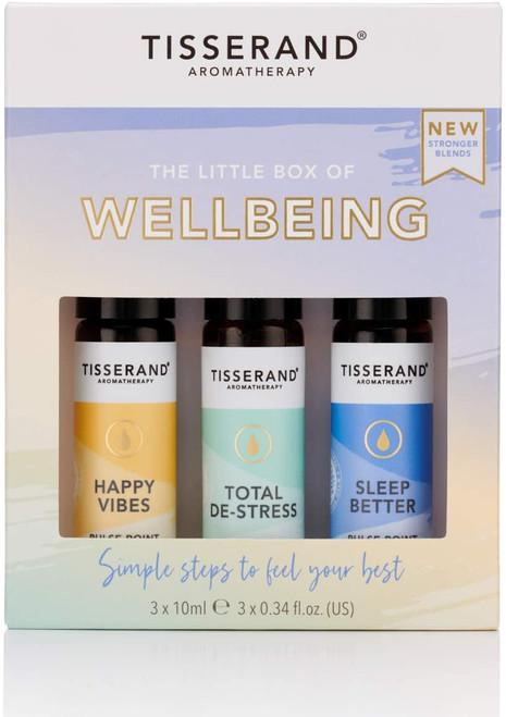 Tisserand Aromatherapy Essential Oil Roller Balls Kit - Wellbeing