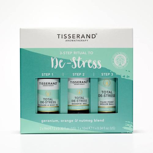 Tisserand Aromatherapy Comforting 3 Step Ritual to De-Stress