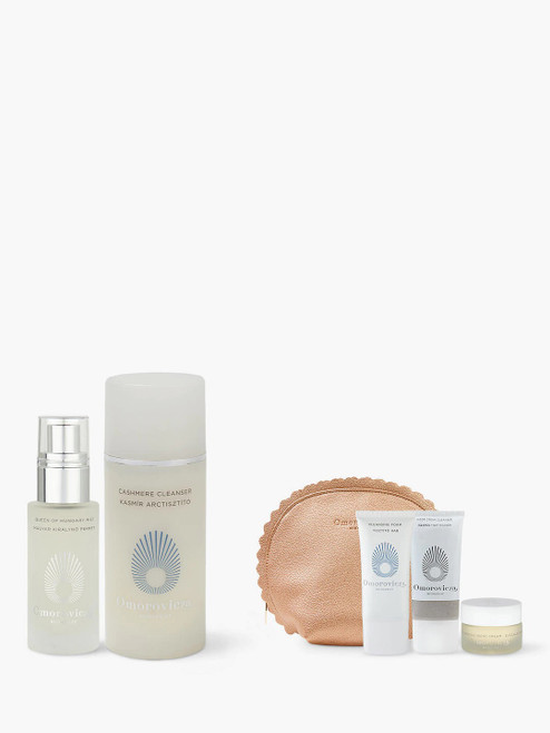 Omorovicza Cashmere Cleanser with Gift Queen of Hungary Mist Travel Size