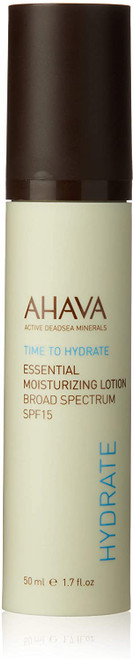 AHAVA SPF 15 Essential Moisturizing Lotion-50 ml