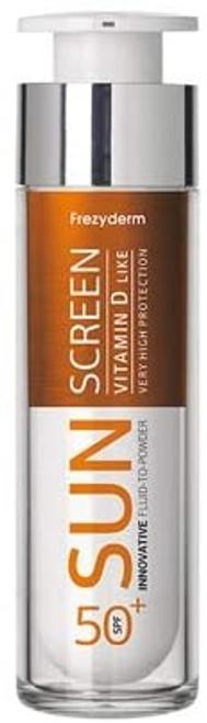 Frezyderm Sunscreen Fluid to Powder Vitamin D-Like-50ml
