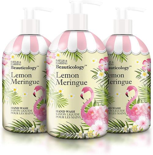 Baylis and Harding Beauticology Lemon Meringue Hand Wash - Pack of 3