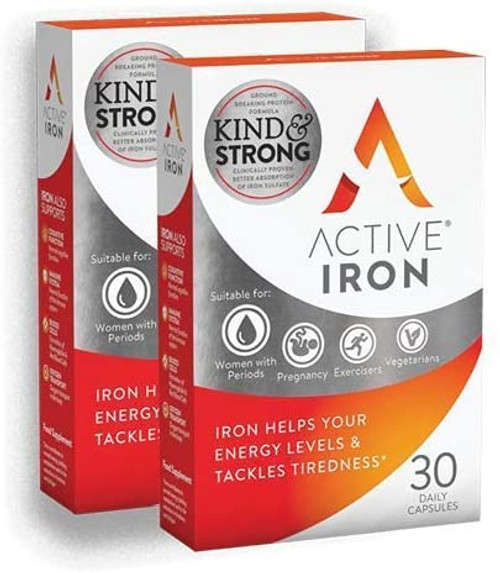 Active Iron Strong Iron Supplement For Strengthening Immune System - Pack of 2