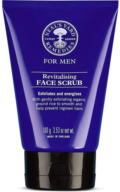 Neal's Yard Remedies Men's Revitalising Face Scrub-100g