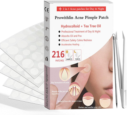 Acne Patches Hydrocolloid Absorbing Acne Pimple Patches