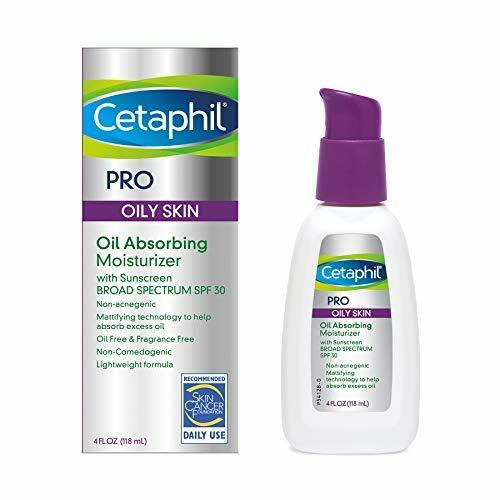 Cetaphil Dermacontrol Facial Moisturizer for Acne