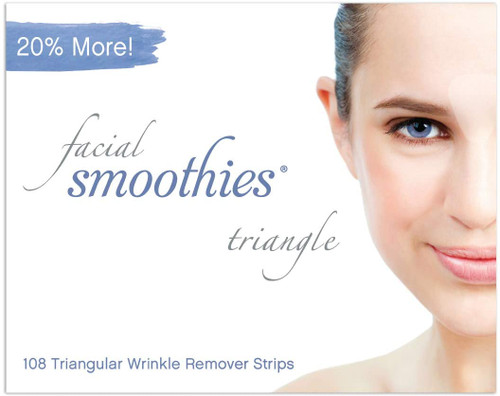 Facial Smoothies TRIANGLE Anti Wrinkle Strips 108