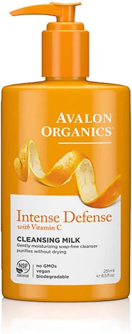 Avalon Organics Intense Defence Cleansing Milk-250 ml