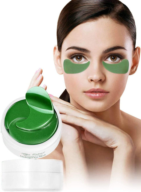 AONOKOY Collagen Hydro Gel Under Eye Patches for Puffy Eyes - 30 Pairs