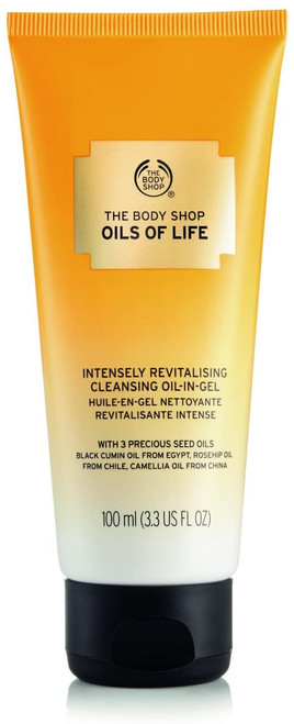 The Body Shop Oils of Life Revitalising Cleansing Oil-in-Gel-100ml