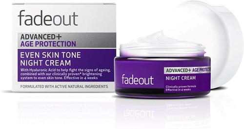 Fade Out Advanced+ Age Protection Even Skin Tone Night Cream-50ml