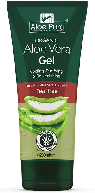 Aloe Pura  Aloe Vera Gel 2 Pack Bundle-200ml