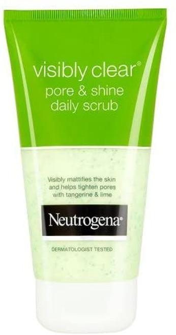 Neutrogena Visibly Clear Pore and Shine Daily Scrub-150ml