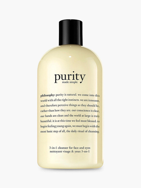 Philosophy Facial Cleanser Purity Made Simple One-Step-480ml