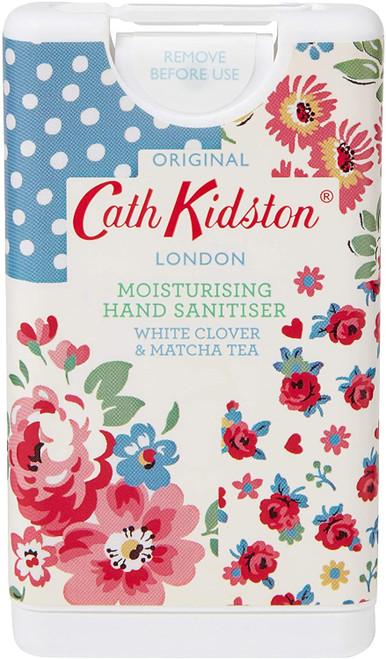 Cath Kidston White Clover and Matcha Tea Fragranced Hand Sanitiser - 15ml