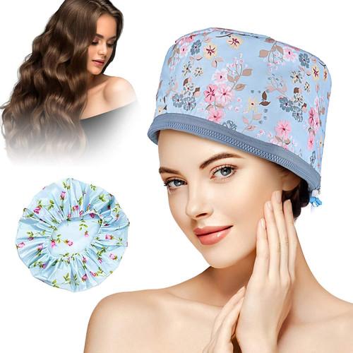 GLAMADOR Multifunctional Hair Steamer Cap-Blue
