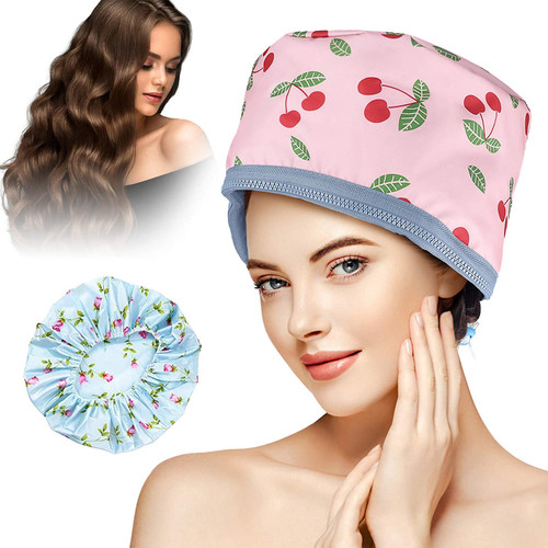 GLAMADOR Multifunctional Hair Steamer Cap-Pink