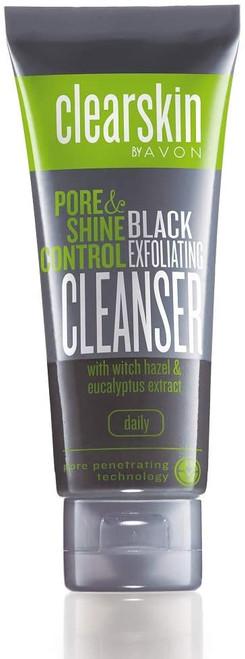 Clearskin Pore & Shine Control Black Exfoliating Cleanser