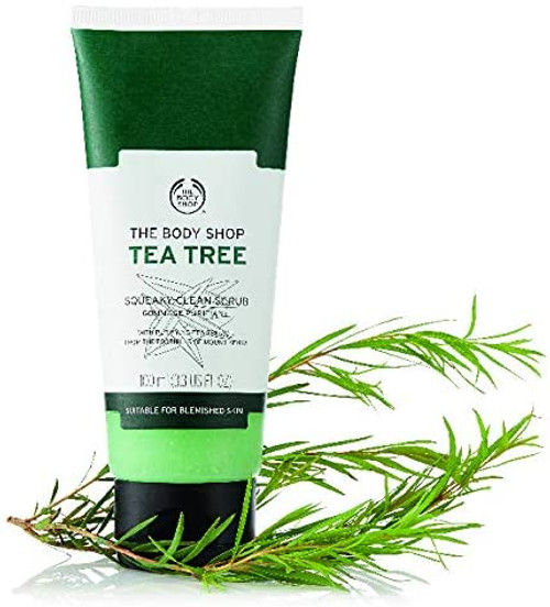 The Body Shop Tea Tree Squeaky Clean Scrub-100 ml