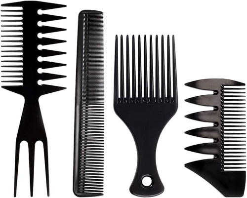 Mens Styling Comb Afro Hair Comb Hairdressing