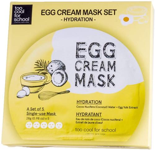 Too cool for school Egg Cream Mask 5ea