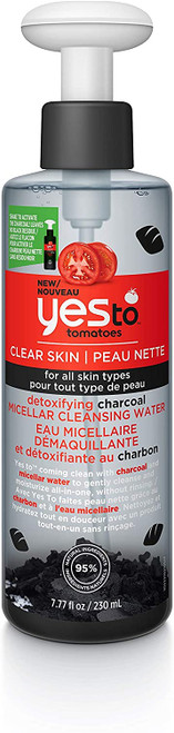 Yes To Tomatoes Detoxifying Charcoal Micellar Cleansing Water-230ml