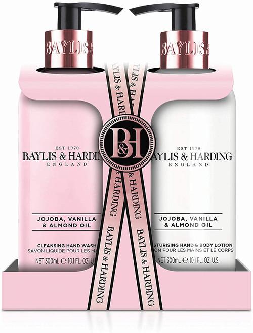 Baylis and Harding Jojoba Vanilla and Almond Oil Hand Care Set